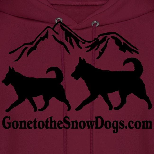 Snow Dogs with Mountain