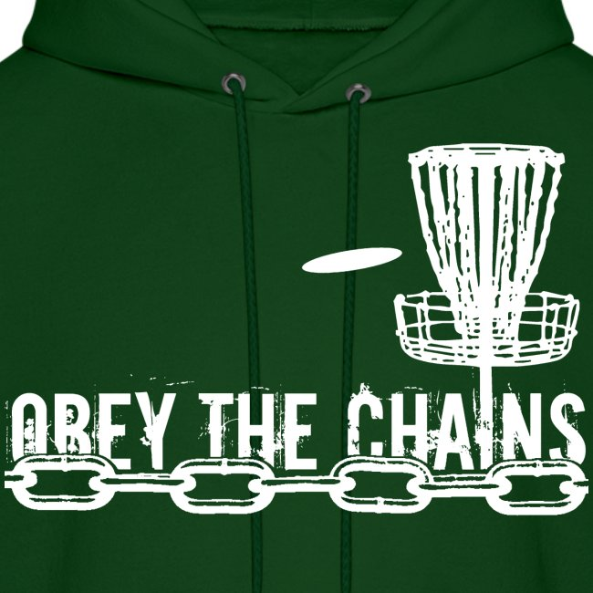 Obey the Chains Disc Golf White