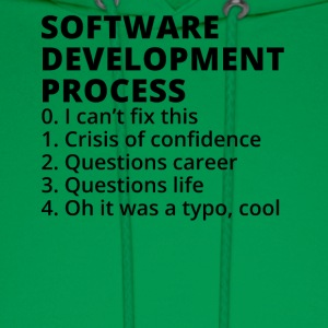 Software Development Process - Men's Hoodie