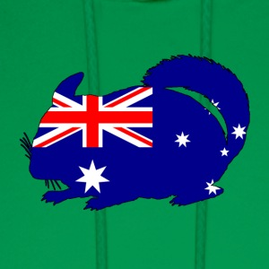 Australian Flag - Chinchilla - Men's Hoodie