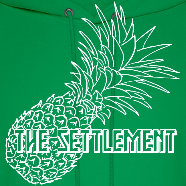 Pineapple with Band Name | The Settlement