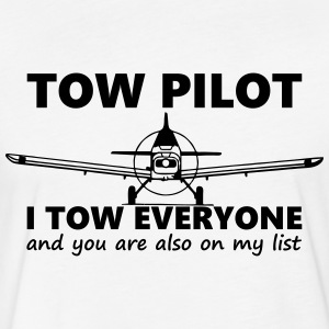 towpilot piper pa25 - Fitted Cotton/Poly T-Shirt by Next Level