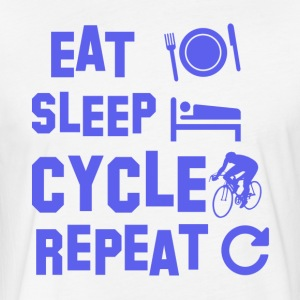 cycle design - Fitted Cotton/Poly T-Shirt by Next Level