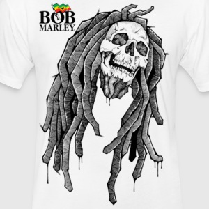 BOB MARLEY TEE - Fitted Cotton/Poly T-Shirt by Next Level