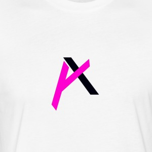 amaadilogo pink an black - Fitted Cotton/Poly T-Shirt by Next Level