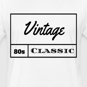 Vintage 1980s Classic - Fitted Cotton/Poly T-Shirt by Next Level