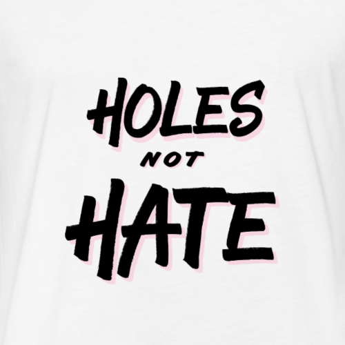 No H8 - Fitted Cotton/Poly T-Shirt by Next Level