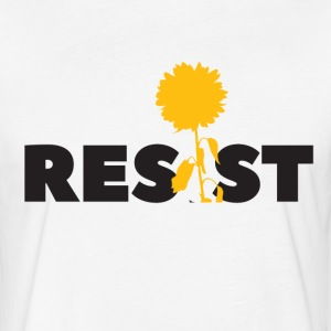 resistflower - Fitted Cotton/Poly T-Shirt by Next Level