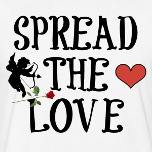 SPREAD THE LOVE - Fitted Cotton/Poly T-Shirt by Next Level