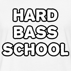 Hard Bas School - Fitted Cotton/Poly T-Shirt by Next Level