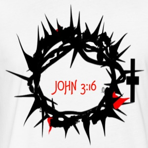JOHN316 CROWN - Fitted Cotton/Poly T-Shirt by Next Level