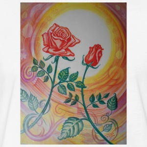 dancing roses - Fitted Cotton/Poly T-Shirt by Next Level