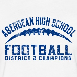ABERDEAN HIGH SCHOOL FOOTBALL DISTRICT 2 CHAMPIONS - Fitted Cotton/Poly T-Shirt by Next Level