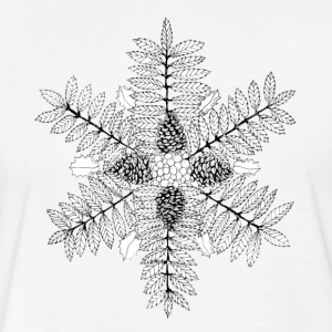Rowan & Pine Mandala - Fitted Cotton/Poly T-Shirt by Next Level