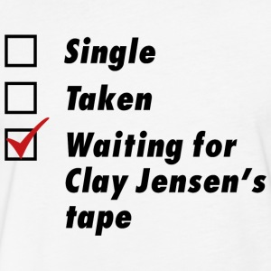 Waiting for Clay Jensen's tape - Fitted Cotton/Poly T-Shirt by Next Level