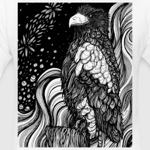 Sea Eagle - Fitted Cotton/Poly T-Shirt by Next Level