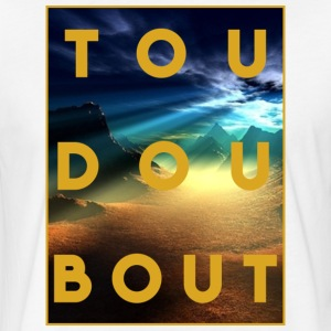 tou dou bout univers - Fitted Cotton/Poly T-Shirt by Next Level