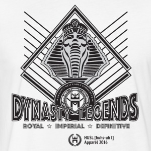 HUSL Dynasty Legends - grey - Fitted Cotton/Poly T-Shirt by Next Level