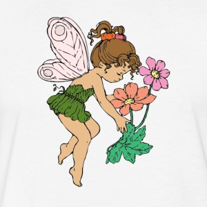 Fairy - Fitted Cotton/Poly T-Shirt by Next Level