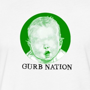 GURB NATION - Fitted Cotton/Poly T-Shirt by Next Level