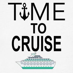 Time To Cruise Cool Cruising Tee Shirt - Fitted Cotton/Poly T-Shirt by Next Level