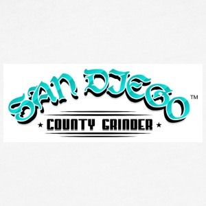 SAN DIEGO COUNTY GRINDER - Fitted Cotton/Poly T-Shirt by Next Level