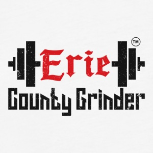 ERIE COUNTY GRINDER - Fitted Cotton/Poly T-Shirt by Next Level