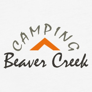 Camping Beaver Creek - Fitted Cotton/Poly T-Shirt by Next Level