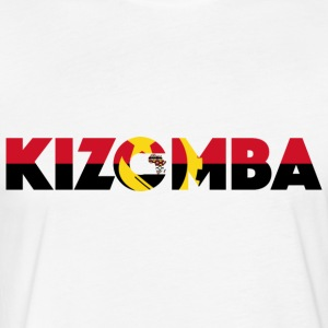 Kizomba_angola_flag - Fitted Cotton/Poly T-Shirt by Next Level