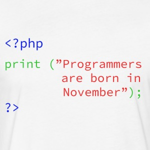 Programmers Month - Fitted Cotton/Poly T-Shirt by Next Level