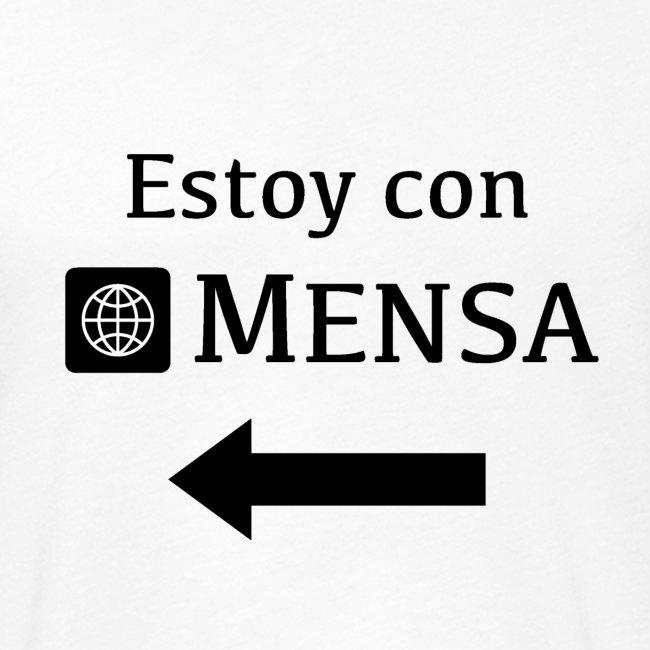 Estoy con MENSA (I'm with MENSA)