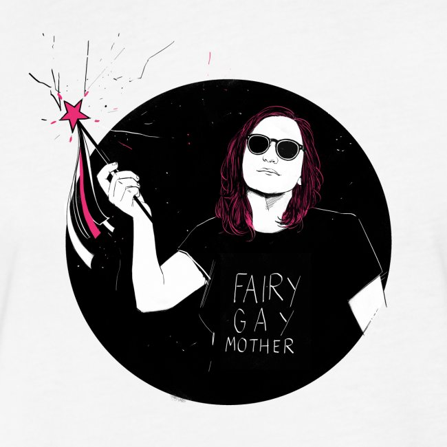 Fairy Gaymother with Wand