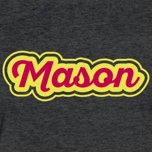Motiv Vorname Mason - Fitted Cotton/Poly T-Shirt by Next Level