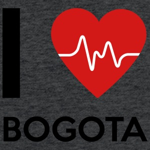 I Love Bogota - Fitted Cotton/Poly T-Shirt by Next Level