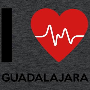 I Love Guadalajara - Fitted Cotton/Poly T-Shirt by Next Level