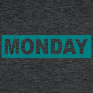 MONDAY - Fitted Cotton/Poly T-Shirt by Next Level