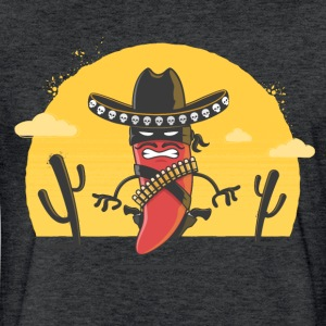 Chili Bandito - Fitted Cotton/Poly T-Shirt by Next Level