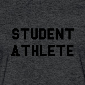 Student Athlete - Fitted Cotton/Poly T-Shirt by Next Level