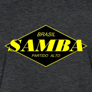 Brasil samba partido alto - Fitted Cotton/Poly T-Shirt by Next Level
