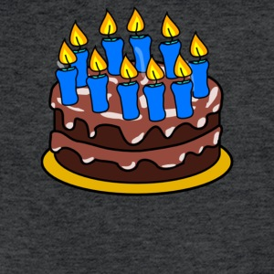 Happy Birthday - Fitted Cotton/Poly T-Shirt by Next Level