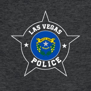 Las Vegas Police T Shirt - Nevada flag - Fitted Cotton/Poly T-Shirt by Next Level