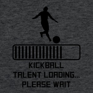 Kickball Talent Loading - Fitted Cotton/Poly T-Shirt by Next Level