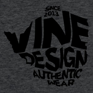 Vine ZW - Fitted Cotton/Poly T-Shirt by Next Level