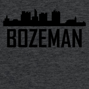 Bozeman Montana City Skyline - Fitted Cotton/Poly T-Shirt by Next Level