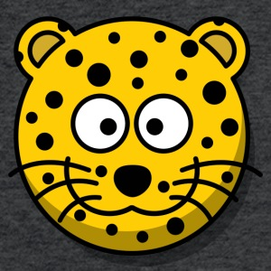 cheetah funny comic style - Fitted Cotton/Poly T-Shirt by Next Level