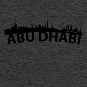 Arc Skyline Of Abu Dhabi United Arab Emirates - Fitted Cotton/Poly T-Shirt by Next Level