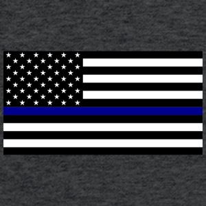 Blue Lives Matter - Fitted Cotton/Poly T-Shirt by Next Level