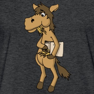horse knight ride - Fitted Cotton/Poly T-Shirt by Next Level