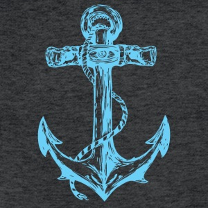 The Anchor - Fitted Cotton/Poly T-Shirt by Next Level