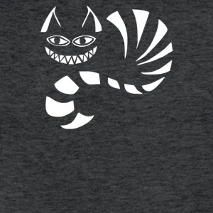 Cheshire Cat Alice In Wonderland Funny - Fitted Cotton/Poly T-Shirt by Next Level